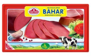 Egetürk Bahar Rinderschinken in Scheiben - (Sigir Dilim Pastirma) 100 g